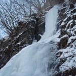 荒船山艫岩 昇天の氷柱