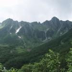 宝剣岳 西横川