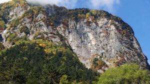 穂高屏風岩