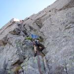 穂高 滝谷 ドーム中央稜