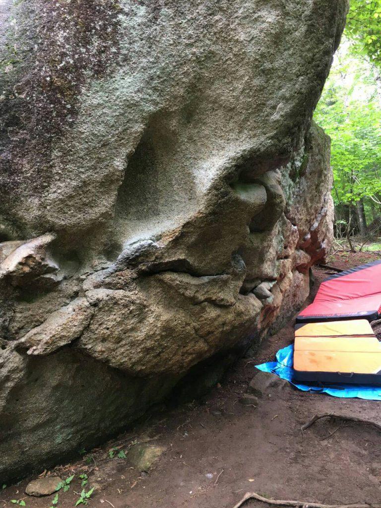 ガリガリ岩