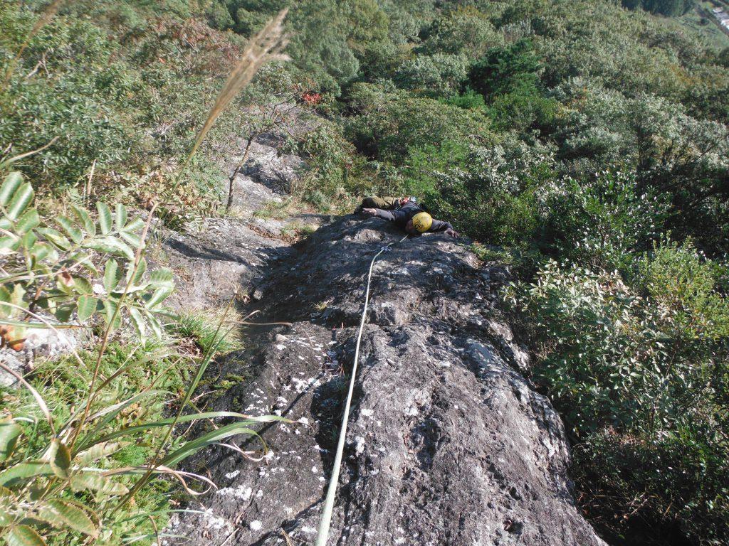 ラストのgunsouさん。 高難度(風)に登って貰いました(笑)
