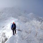八ヶ岳 雪稜訓練