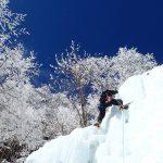 八ヶ岳 アイスクライミング