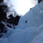 八ヶ岳南沢アイスクライミング
